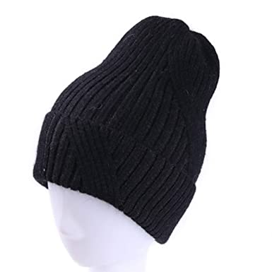 Women Winter Hats Thick Warm Lady Hat Solid Vintage Rabbit Fur Velvet Female  Leisure Beanies Caps a467464149b9