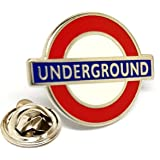 MUTTLEY DRIVES THE VINTAGE LONDON RT TOURIST RED BUS ENAMEL PIN BADGE