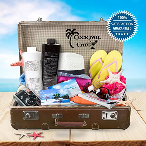Cocktail-Caddy-2-25-oz-Shampoo-and-Conditioner-Cruise-line-Flask-Kit-Seals-Included-Each-Holds-A-Fifth-Alcohol-Rum-Runner