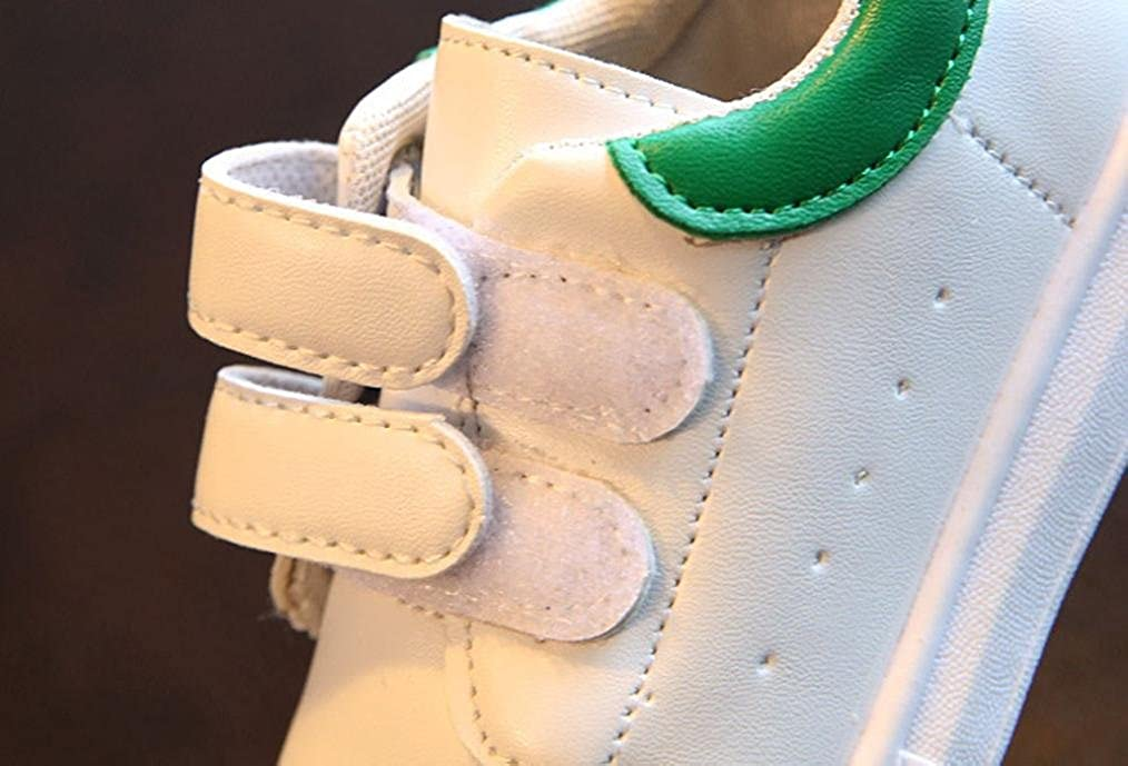 Kimanli Baby Fashion Solid Sneaker Child Girls Boys Casual Sport White Shoes
