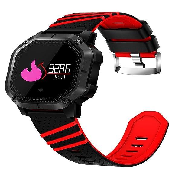 QUICKLYLY Smartwatch con Pulsómetro,Impermeable IP68 Reloj Inteligente,Fitness Tracker con Cronómetro,Monitor