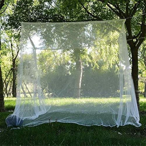 linyiming-gongyibaishe01 200x200x180cm Reise Camping Moskitonetz Abwehrmittel Zelt Insekten ablehnen 4 Eckpfosten Himmelbett Vorhang Bett Zelt Hängebett, Australien