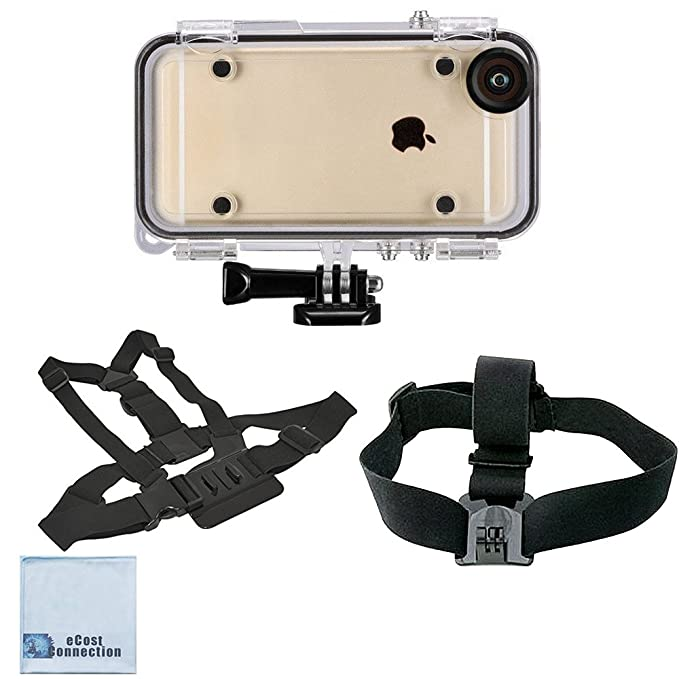 Amazon.com: eCostConnection Extreme Sports Waterproof Case for ...