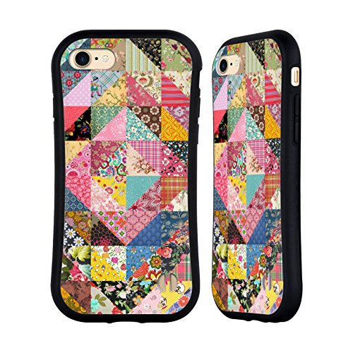 Official Rachel Caldwell Quilt Patterns Hybrid Case for Apple iPhone 7 / iPhone 8