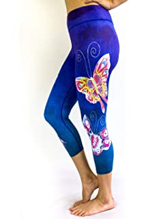 f69912000be14 Fit Rebel Women's Yoga Pants- High Waisted Workout Leggings, Hand Crafted  Design