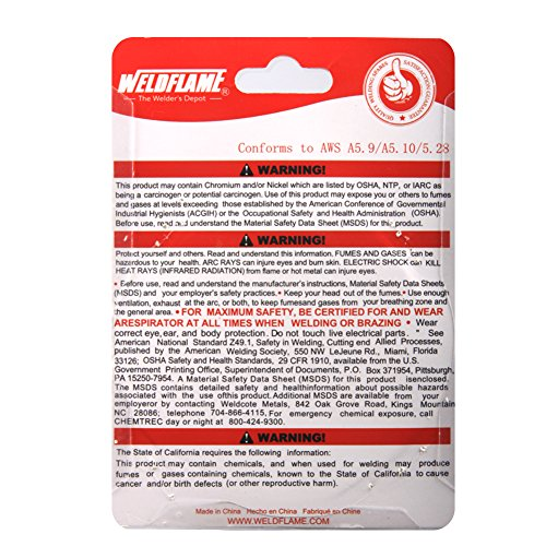 Weldflame ER4043 1-Pound General Purpose Aluminum Welding Wire 0.030 Inch by WELDFLAME (Image #3)