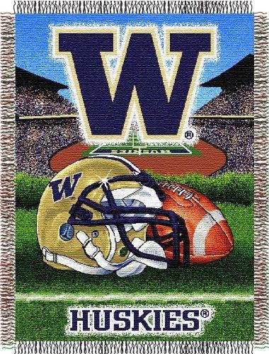 Huskies Acrylic Tapestry Throw (Northwest NCAA Washington Huskies 48