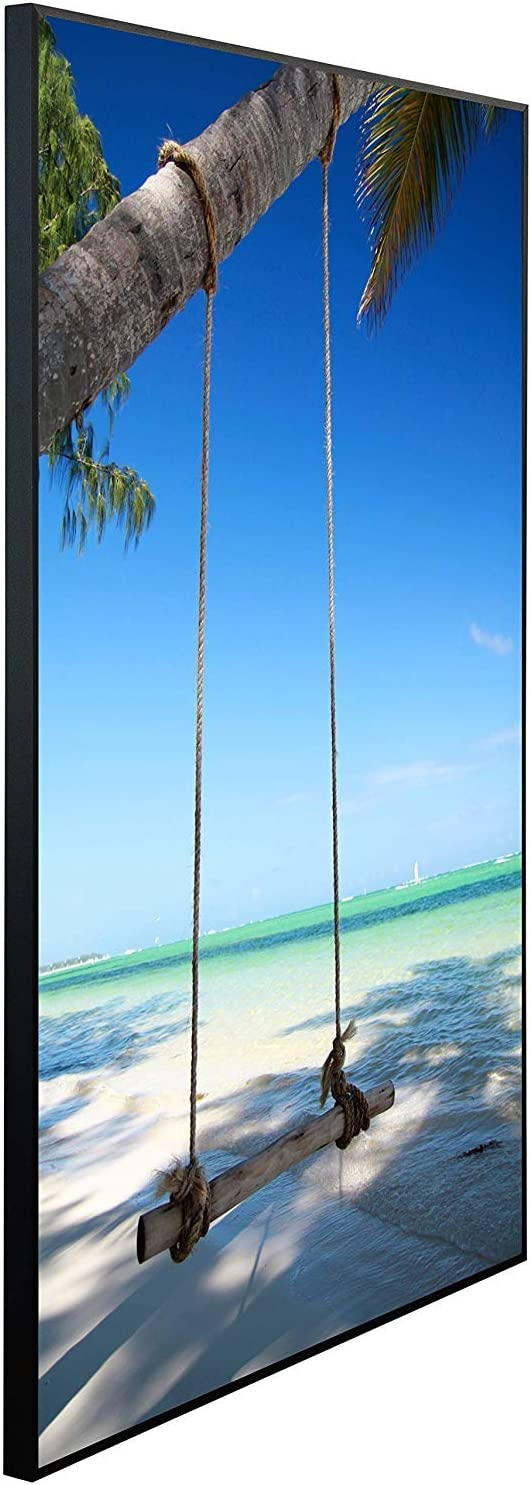 46 Made in Germany | 120x74x3cm Ecowelle Infrarotheizung mit Bild Infrarot Heizung| 900 Watt
