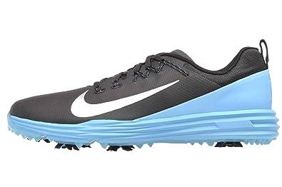 f7a272c594 Nike Lunar Command 2 Golf Shoes 2017 Black/Metallic Silver/Blue Fury Medium  8