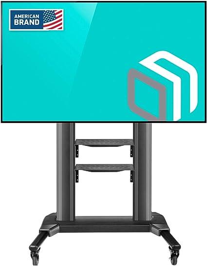ONKRON TS2771 Carro TV Soporte Móvil para Pantallas de TV LCD LED OLED de 42 a