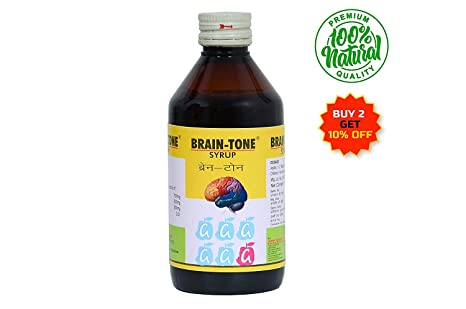 Aseem Brain-Tone Syrup (Ayurvedic Memory And Health Booster) - 200Ml