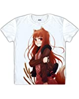 Spice and Wolf Horo cosplay clothes tee costume