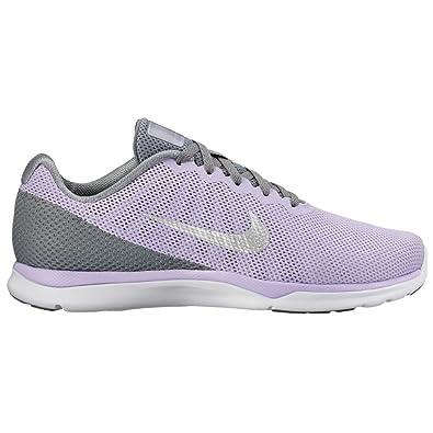 quality design d9b26 fda4d Nike Women s in-Season TR 6 Cross Trainer, Hydrangeas Metallic Silver Cool