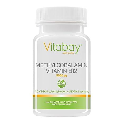 Metilcobalamina, vitamina B12 (5000 mcg)