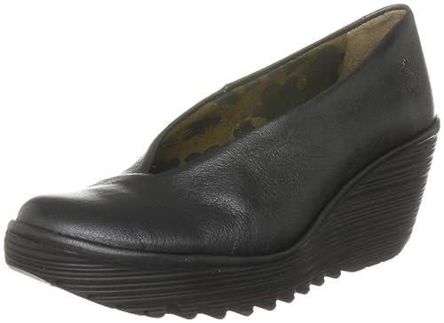 Extremadamente Disfrutar De La Venta En Línea FLY London Yaz amazon-shoes neri Pelle Precio Increíble Para La Venta 6Czx1qUT