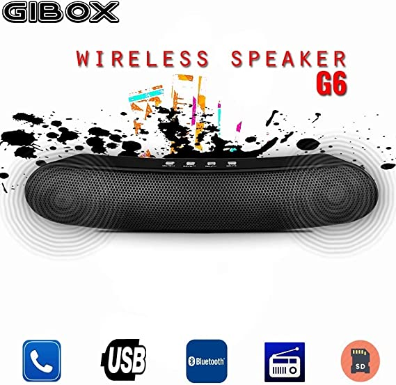 tradeshoptraesio® – Altavoz Bluetooth gibox G6 Imperium Bass ...