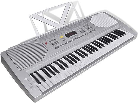 Festnight Teclado Electrónico 61 Teclas de Piano 95,5 x 37 x ...