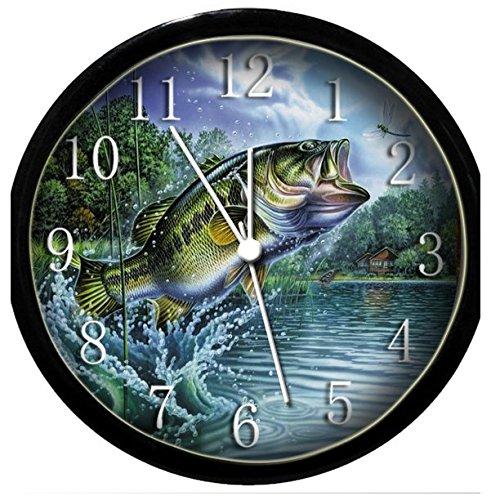 Glow In the Dark Wall Clock Bass
