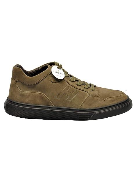 HOGAN HXM3650AN30HG0S413 Hombre Marrón Gamuza Botines: Amazon.es: Zapatos y complementos