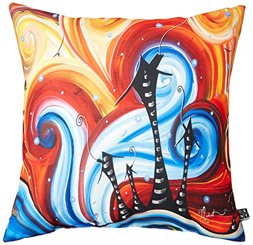 Deny Designs Stephanie Corfee Young Bohemian 16 Inch X 16 Inch Throw Pillow (Stephanie Design)