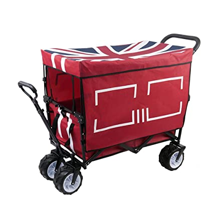 7bff033279cb Amazon.com : Hand truck Nationwel@ Pure Color Outdoor Child Trolley ...