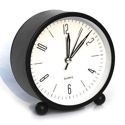 cool office clocks. Bidason Alarm Clock, Cube Office Desk No Ticking Noise Modern Cool Clocks O