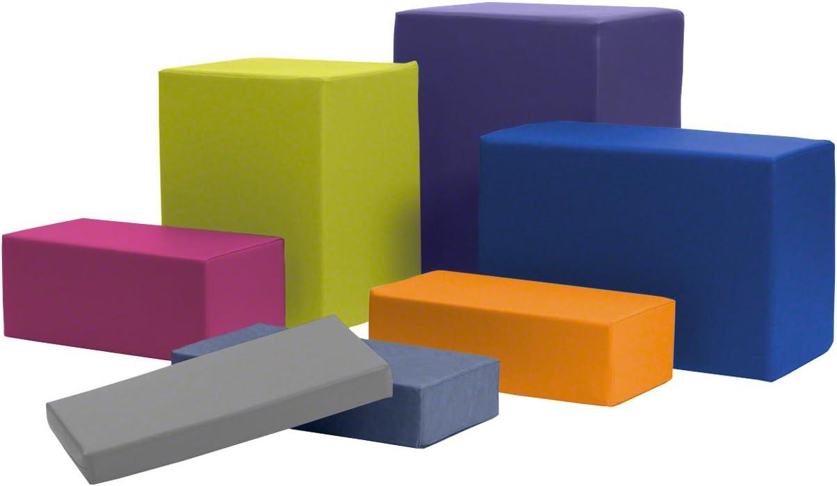 Lagerungsw/ürfel Positurkissen Lagerungshilfe Lagerung 50x25x5cm safran