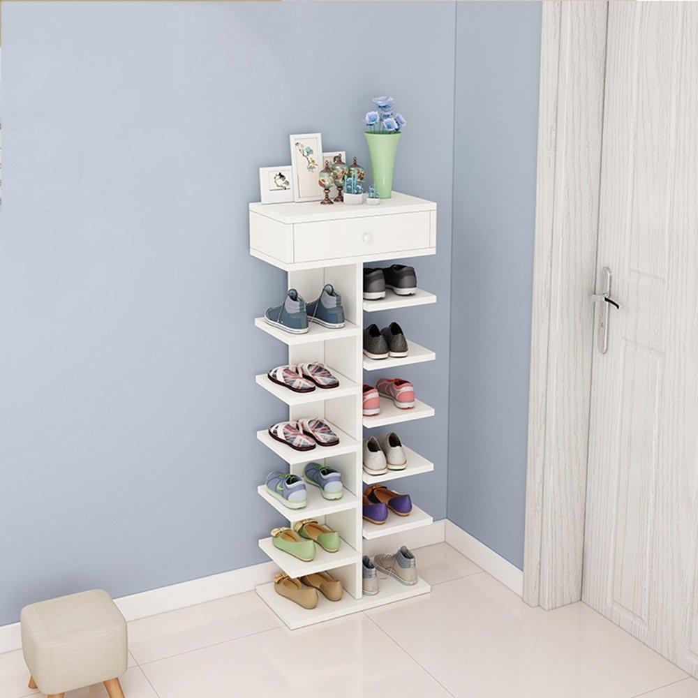 NAN liang 現代ミニマリスト家庭用防塵多機能靴ラック寝室玄関リビングルームリムーバブルスペース靴箱 (色 : 3) B07MRCCKR5