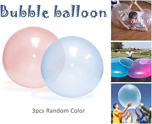 12/'/' Bubble Balloon Inflatable Toy Ball Tear-Resistant Balls Kids Playing