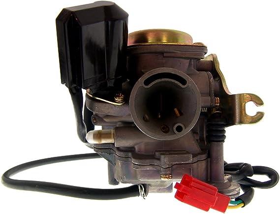 2extreme Standard Vergaser Ansaugstutzen Kompatibel Für Benzhou Yy50qt 15 Retro Star Auto