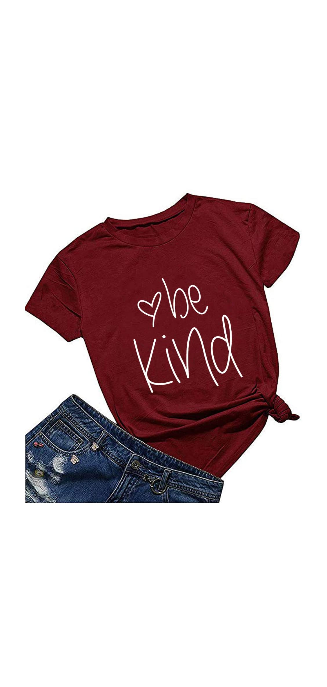 Women Be Kind T Shirt Cute Casual Tops Inspirational