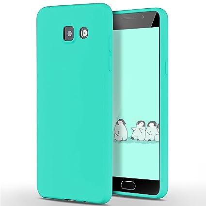 SpiritSun Funda para Samsung Galaxy A5 2016, Soft Carcasa Diseño Mate Ultrafina TPU Bumper Suave Silicona Carcasa Ultra Delgado y Ligero Goma Flexible ...