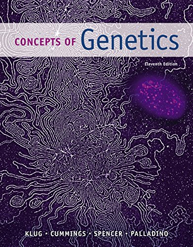 Concepts of Genetics (11th Edition) Pdf