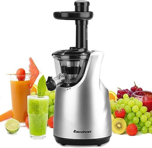 Excelvan extractor de zumo Lent licuadora frutas y Legumes dos ...