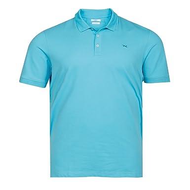 pick up newest in stock Brax Hi-Flex Poloshirt Pima Cotton Türkis Übergröße: Amazon ...
