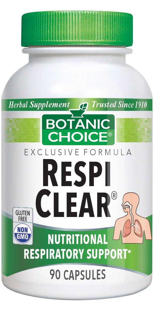 Botanic Choice Respi Clear, 90 Capsules