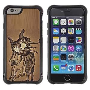 """Hypernova Defender Series TPU protection Cas Case Coque pour Apple Iphone 6 PLUS 5.5 [Lindos ojos grandes friendly Arte extranjero""""]"""