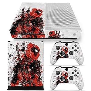 Amazon.com: Microsoft Xbox One S Skin Decal Sticker Set ... Xbox One Skins Amazon