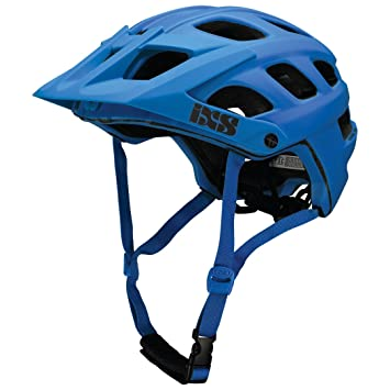 IXS Trail Casco MTB Unisex Adultos, Azul Neon, 54 – 58 cm