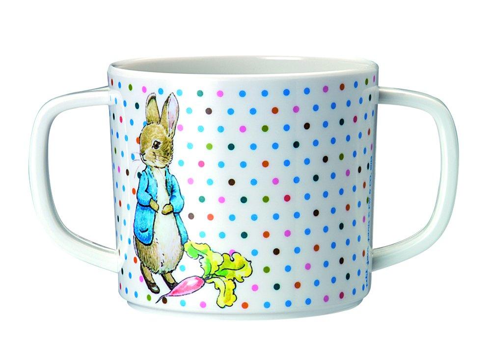 Petit Jour Peter Rabbit–Taza de melamina con 2asas Petit Jour Paris BP904G