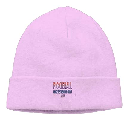 LOZWES Pickleball Make Retirement Great Again.PNG New Winter Hats Knitted Twist Cap Thick Beanie