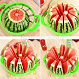 Watermelon Cutter Cantaloupe Melon Slicer Stainless Steel Kitchen Fruit Divider offers
