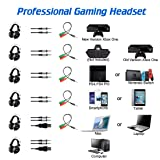 KUAK X3 Gaming Headset with Mic for Xbox One PS4