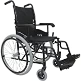Karman 24 pounds LT-980 Ultra Lightweight Wheelchair Black