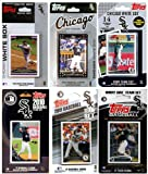MLB Chicago White Sox 6 Different Licensed Trading Card Team Sets