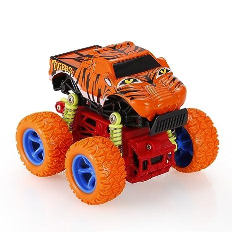 Goolsky 1:34 Animal Inertia Coche Juguete Coche Todoterreno 4WD Aleación Grandes Ruedas Choque Resistente