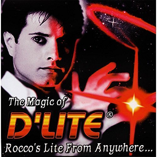 D'lites Regular Red Lightup Magic - Thumbs Set / 2 Original Amazing Ultra Bright Light - Closeup & Stage Magic Tricks - Easy Illusion Anyone Can Do It - See Box for Free Training / Routine Videos