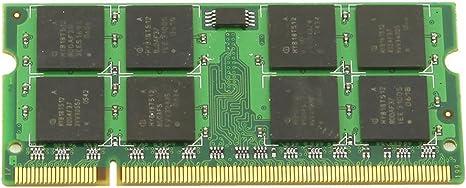 Imagen deBMYUK Memoria Adicional 1GB PC2-4200 DDR2 533MHZ Memoria para Ordenador portatil PC