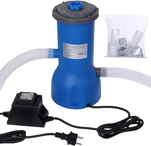 Blueborn PP 3785 L/h - Bomba de Filtro para Piscina, 230 V, 99 W ...