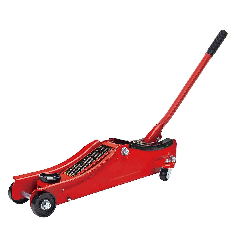 Wolf Big Red 2 TONNE Low Profile Hydraulic Trolley Jack
